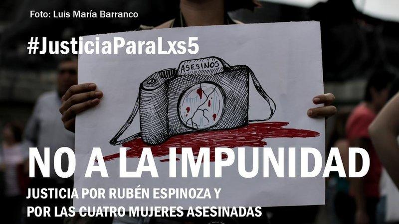 Messico – Javier Duarte deve essere indagato per l'omicidio di Rubén Espinosa, Nadia Vera e altre tre donne: firma la petizione