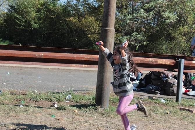Hegyeshalom: continua la marcia verso i confini d'Europa