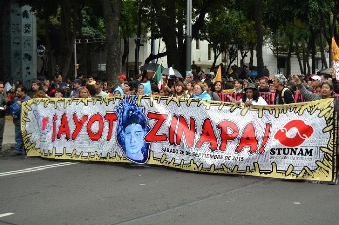 Ayotzinapa, un anno dopo