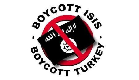 "Campagna ""Boicotta la Turchia, boicotta l'Isis, boicotta la guerra"""