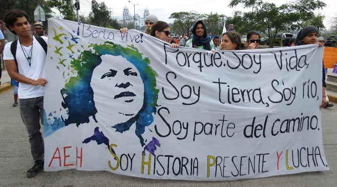 Honduras: Berta che ci ha convocato, ci ha ispirato e ci ha colmato di energia e speranza