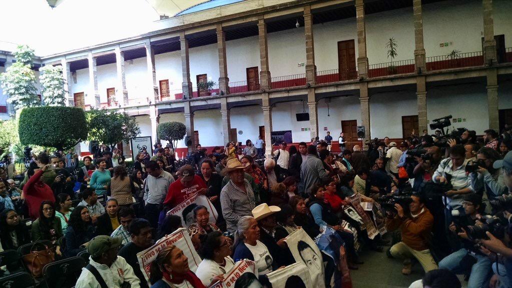 Ayotzinapa, il GIEI se ne va, la lotta per la veritá continua
