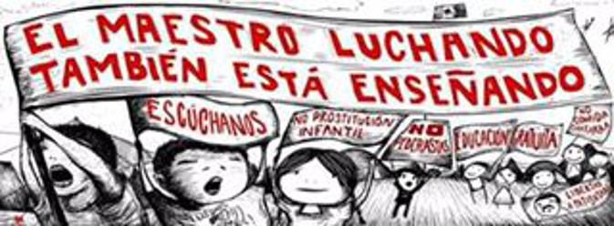 Comunicato di solidarietà con la lotta dei maestri della CNTE