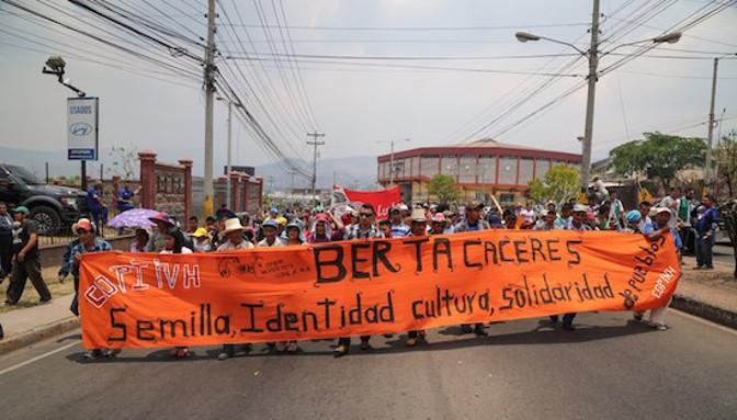 Lo Stato e il modello estrattivista sono i responsabili dell'uccisione di Berta