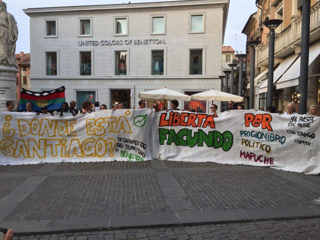 Tutti i colori dell'ingiustizia. La Patagonia di Benetton tra violenze e desaparecidos