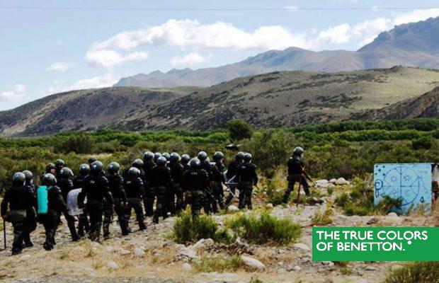 Patagonia: aumenta la violenza nei territori del Gruppo Benetton